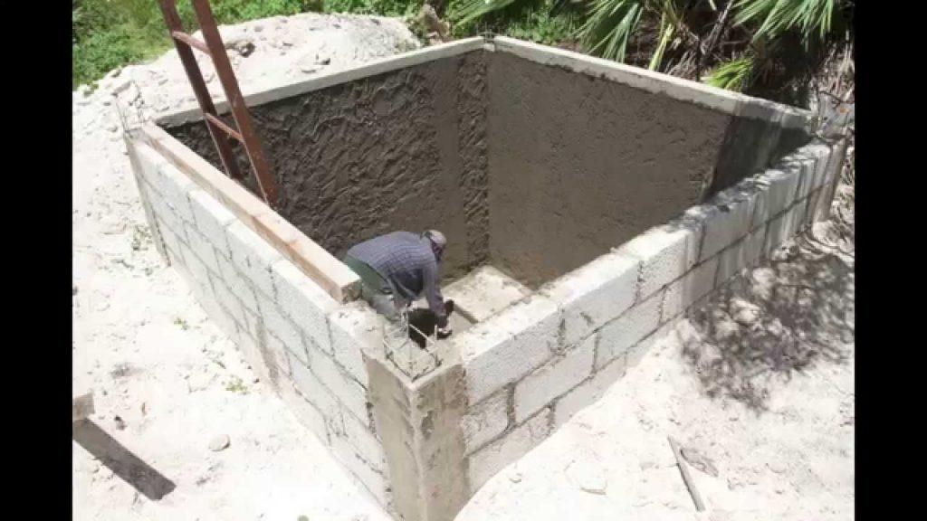 cisterna de concreto