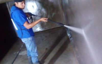 lavado a presión de cisternas