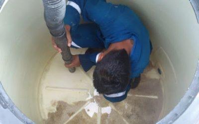 lavado de cisterna y tinaco.